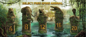Jungle Spirit slot free spins