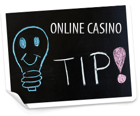 tips for online casino players