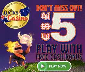 Lucks Casino no deposit bonus