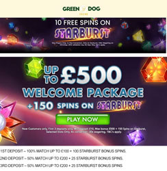 green dog casino promotions